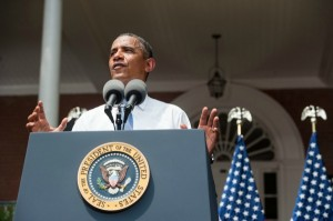 President Obama speaks at Georgetown University