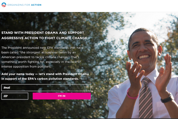 OFA climate regs campaign page